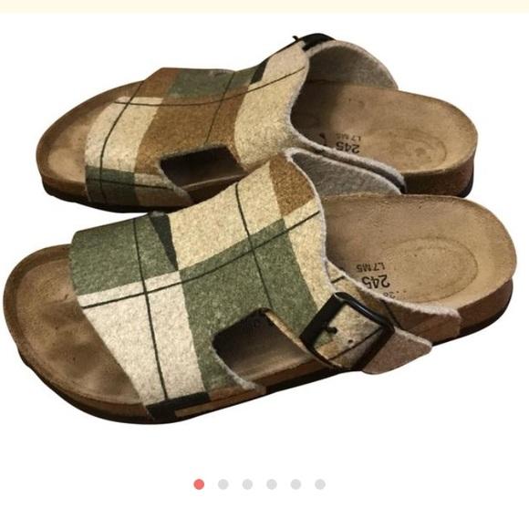 6d9f0292cb0 Birkenstock Shoes - Birkenstock Birki s Plaid Sandal
